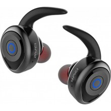 Bluetooth наушники стереогарнитура Awei T1 Black