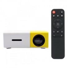 Портативный мини проектор LED Projector UTM YG-300 White/Yellow