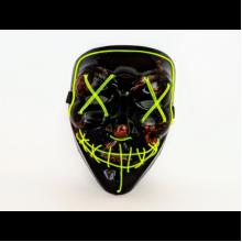 Неоновая маска Purge Mask Судная ночь Зеленая