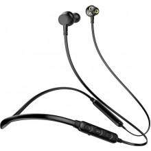 Беспроводные наушники AWEI Беспроводные Bluetooth наушники Awei G20BL с двойными динамиками (Черный) SKU_439