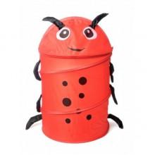 Корзина-ящик для игрушек Bambi Божья коровка
