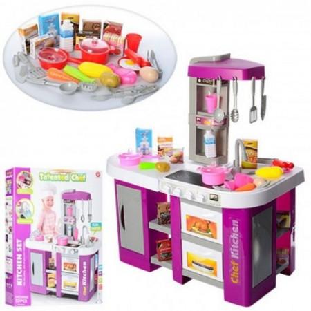 Детский игровой набор детская кухня 922-47 с холодильником и водой (высота 72,5 см)