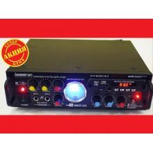 Усилитель звука Bosstron ABS-339U USB + Fm + Mp3 + КАРАОКЕ