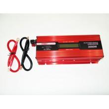 Преобразователь тока инвертор AC/DC с LCD дисплеем UKC 2000W KC-2000D