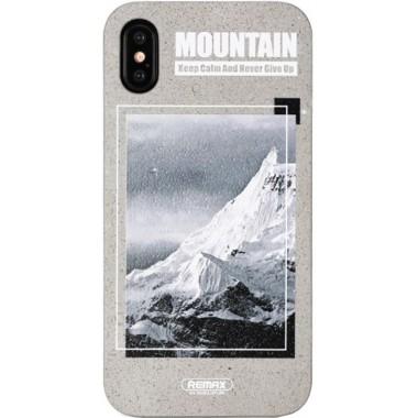 Чехол-накладка Remax Armstrone Series Case Apple iPhone X Snow