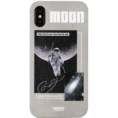 Чехол-накладка Remax Armstrone Series Case Apple iPhone X Moon