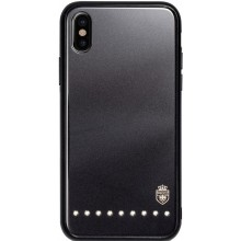 Чехол-накладка Remax Batili Series Glass Case Apple iPhone X Black