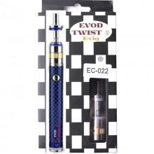EVOD Twist 3 EC-022 Blue 1600mah Aerotank M16 Micro USB Электронная сигарета с регулятором мощности