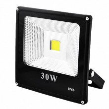 Прожектор SLIM YT-30W COB, 2700Lm, IP66 (влагозащита)
