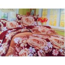 Комплект постельного белья от украинского производителя Двуспальный T-90912