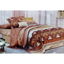 Комплект постельного белья от украинского производителя Двуспальный T-90911