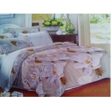 Комплект постельного белья от украинского производителя Двуспальный T-90906
