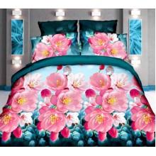 Комплект постельного белья от украинского производителя Двуспальный T-90910