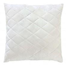 Белая стеганая подушка из бамбукового волокна на замке 70х70 T-54803