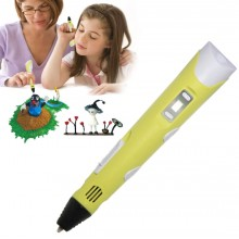 Ручка 3D с Экраном H0220 Желтый