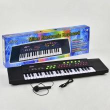 Пианино 3738 10 с микрофоном, 2 динамика, от сети 220V - 185491