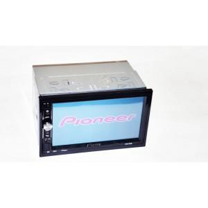 """Автомагнитола Pioneer 2 din Pioneer 7041 Магнитола 7"""" Экран + AV-in + пульт на руль"""