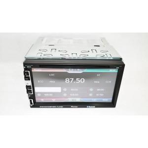 """Автомагнитола Pioneer 2 din  PI-803 GPS 7"""" экран GPS-Mp3-Dvd-Tv/Fm-тюнер"""