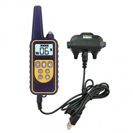 Электроошейник для собак Original Training Collar RT-600 ошейник антилай – пульт для дрессировки до 250м, контроль вибростимуляцией, звуком и импульсами тока для коррекции поведения собак любых пород