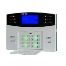 Беспроводная GSM охранная сигнализация YL-007M2B (GSM 015) 30A + брелок удаленного управления