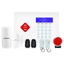 GSM охранная сигнализация G66B + возможность применения магнитных ключей