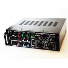 Караоке усилитель мощности звука UKC AV-329BT Bluetooth